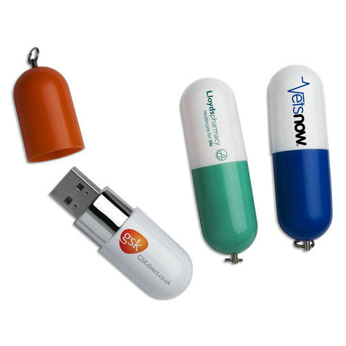 Capsule Shape Thumb Flash drive