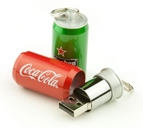 Aluminum Can USB Flash Drive