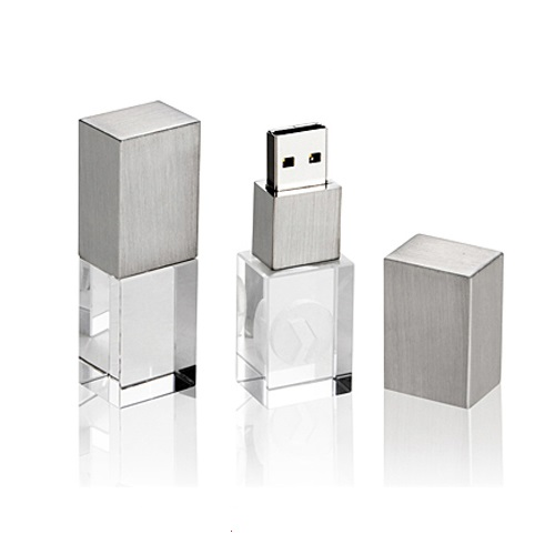 Led Crystal Flash Drive