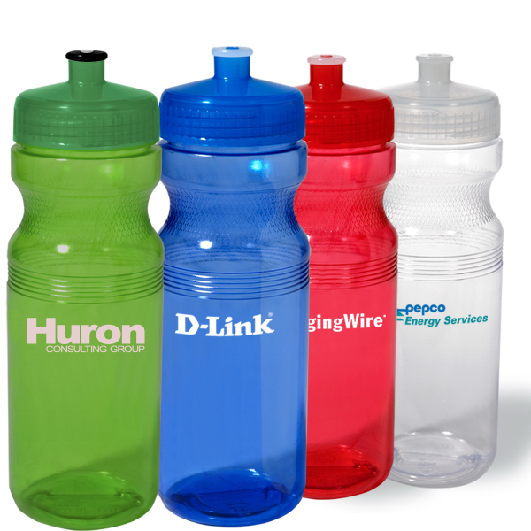 Big Squeeze PolyClear sport bottle