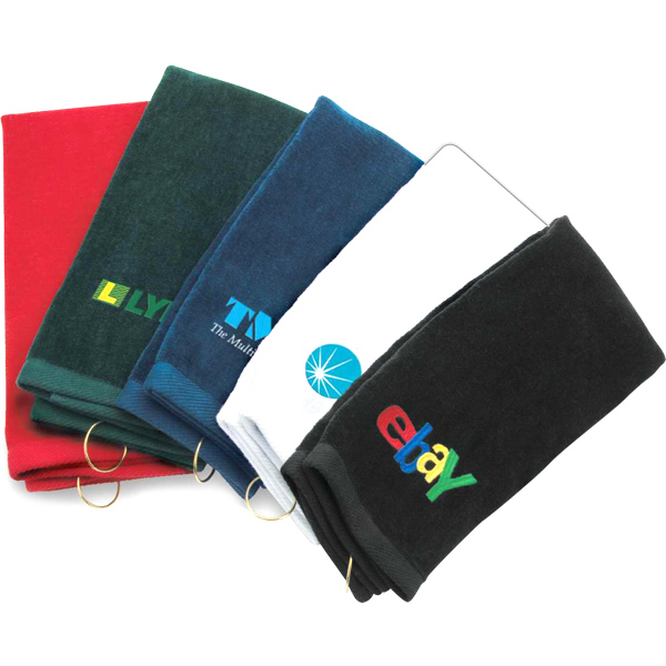 Classic Tri-Fold Custom Golf Towel